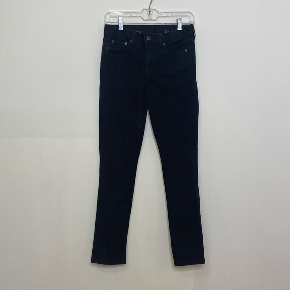 J.Crew Black High Rise Skinny Jeans-size 25